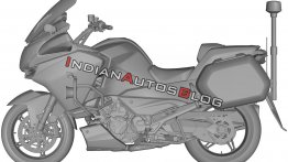 Upcoming CFMoto tourer may feature KTM LC8 V-twin derived engine