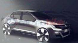 Renault mulling made-for-India sub-4 sedan - Report