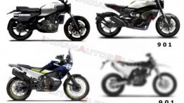 World Exclusive: KTM 890 parallel-twin motor-powered Husqvarna 901 series in the pipeline