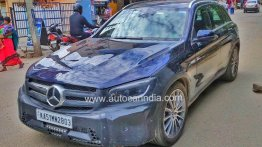 2020 Mercedes GLC (facelift) lands in India, road testing commences
