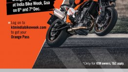 KTM to make 'key announcements' at 2019 India Bike Week