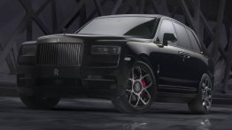 Rolls-Royce Cullinan Black Badge makes world debut