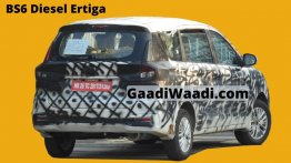 BS-VI Maruti Ertiga diesel spied for the first time
