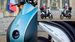 Peugeot e-Ludix joins Palais de l'Elysée fleet