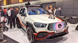 Mercedes-Benz GLE-based ESF 2019 safety vehicle displayed in India