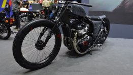 Royal Enfield Interceptor INT 650-based custom lowrider by K-Speed - 2019 Thai Motor Expo Live