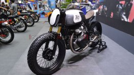 Royal Enfield Continental GT 650-based flat-tracker - 2019 Thai Motor Expo Live