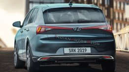 2020 Hyundai i20 rear three quarters - IAB rendering