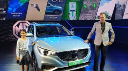 MG ZS EV debuts in India, to be launched next month [Update]