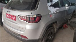 BS-VI Jeep Compass petrol with more powerful engine spied