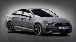 India-bound next-gen Audi A3 Sedan - IAB Rendering