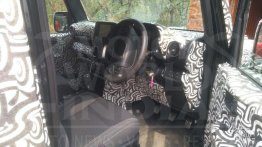 2020 Mahindra Thar final interior and key fob spied