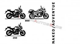 KTM 250 and 790-based GasGas street bikes under development