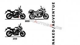 KTM 250 and 790-based GasGas street bikes under development