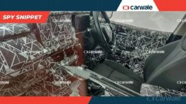 Next-gen 2020 Mahindra XUV500 interior spied, seating layout leaked
