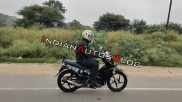Exclusive: New TVS Rockz 125 spied in India