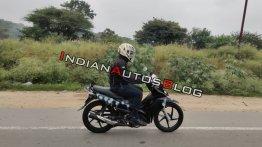 Exclusive: New TVS Rockz 125 spied in India