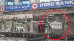 Upcoming Revolt Motors dealership spotted in Hyderabad