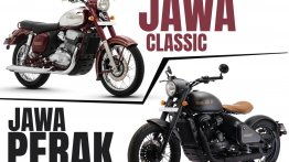 Jawa Perak vs. Jawa classic - Specs & Features Compared