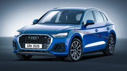 India-bound 2020 Audi Q5 (facelift) imagined - IAB Rendering