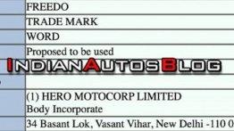 एक्सक्लूसिव: Hero MotoCorp ने Freedo के लिए दायर किया ट्रेडमार्क आवेदन