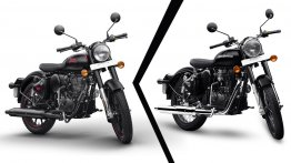 BS-VI Royal Enfield Classic 350 vs. BS-IV Royal Enfield Classic 350 - Old vs. New