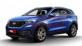 Next-gen Ford EcoSport to be Ford Mustang Mach-E-inspired, low-slung CUV - Report