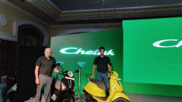 Chetak electric scooter launched in India, priced from INR 1 lakh