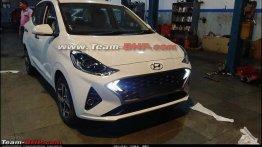 लॉन्च होने से पहले Hyundai Aura डीलरशिप पर पहुंच रही है, इंटीरियर डिटेल लीक