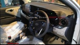 Hyundai Aura starts reaching dealerships, interior leaked