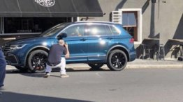 2020 VW Tiguan (facelift) spied naked during ad shoot, to be unveiled soon