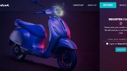 Bajaj Chetak e-scooter bookings open in Pune and Bengaluru