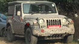 2020 Mahindra Thar exterior & interior shown in clearer spy shots