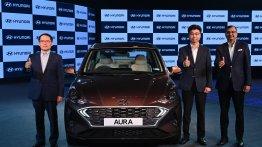 Hyundai Aura भारत में हुई लॉन्च, प्राइस 5.80 लाख रूपए से शुरू