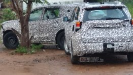2020 Mahindra XUV500 spied once again, could be unveiled at Auto Expo 2020