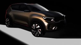 Kia Sonet concept teased in official design sketches ahead of Auto Expo 2020 debut