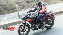 Upcoming BS-VI Bajaj Pulsar 220F spied for the first time