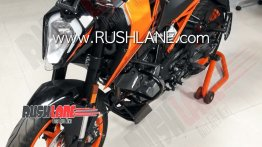 BS-VI KTM 200 Duke makes spy photo debut