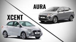 Hyundai Aura बनाम Hyundai Xcent- किसमें कितना है दम?