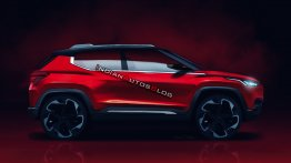 India-specific Nissan sub-4 metre SUV concept - IAB Rendering