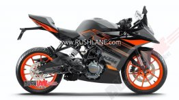 BS-VI compliant KTM RC 200 in a new colour scheme leaked - Report