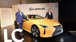 Lexus LC launched in India, priced at INR 1.96 crore