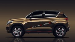 Production Kia Sonet (Kia QYI) profile - IAB Rendering