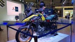 BS-VI Suzuki V-Strom 650 XT revealed - Live from Auto Expo 2020