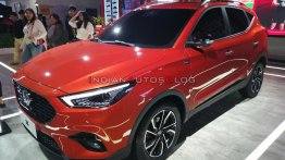 India-bound new MG ZS petrol (facelift) - Live From Auto Expo 2020