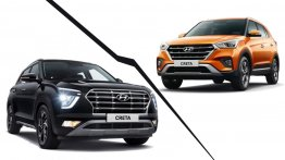 2020 Hyundai Creta vs. 2018 Hyundai Creta - Old vs. New