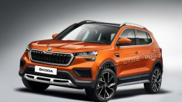 Production Skoda Vision IN SUV (Hyundai Creta rival) - IAB Rendering