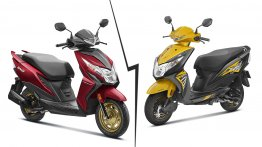 BS-VI Honda Dio vs. BS-IV Honda Dio - Old vs. New