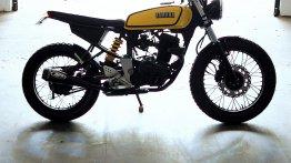 Enthusiast converts a Yamaha FZ into a Yamaha RX100