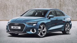 India-bound 2021 Audi A3 Sedan - IAB Rendering